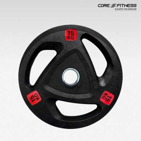Core Fitness Weight Premium Rubber Plate (P5338)