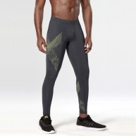 2XU Men's Hyoptik Compression Tights Luminescent