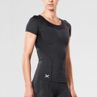 2XU Women's Base Compression Short Sleeve Top