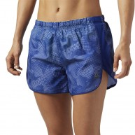 Reebok Women's Running Essentials Printed Short 4""