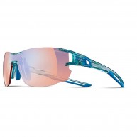 Julbo Aerowide AF, Zebra Light Red, Translucent Blue