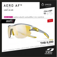 Julbo Aero AF, Zebra Light , TranslucentGrey/Yellow