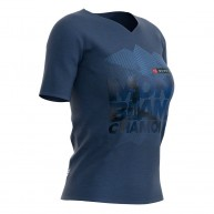 Compressport Women Training TShirt SS Mont Blanc 2018