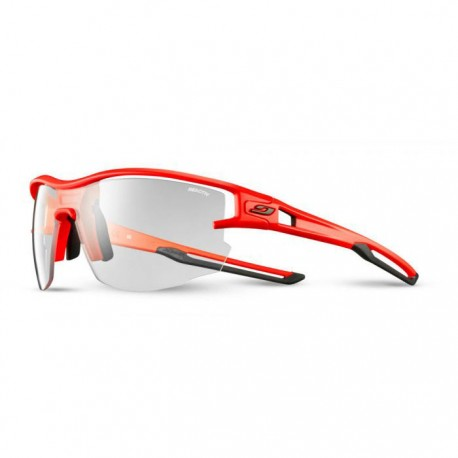 Julbo Aero Segment, Reactiv Lenses, Orange Neon/Black