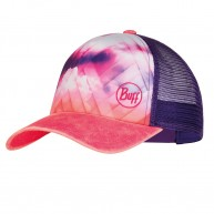 Buff Trucker Cap - Ray Rose Pink