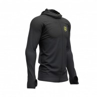 Compressport 3D Thermo Seamless Zip Hoodie - Black Edition 2019