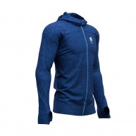 Compressport 3D Thermo Seamless Zip Hoodie Mont Blanc 2019