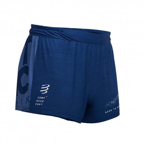 Compressport Racing Overshort Mont Blanc 2019