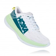 Hoka One One Men Carbon X, Green Ash/White