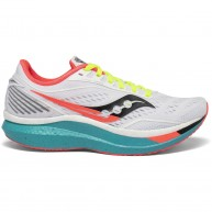 Saucony Women Endorphin Speed _ White Mutant