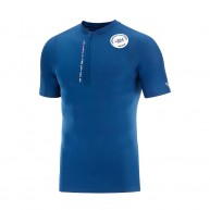 Compressport Trail Half-Zip Fitted SS Top - Mont Blanc 2020