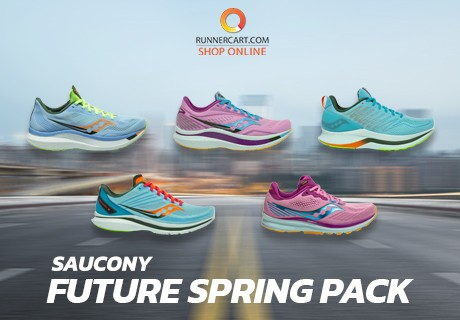 "SAUCONY ENDORPHIN COLLECTION ""FUTURE SPRING PACK"""