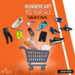 Runnercart Mid Year Sale